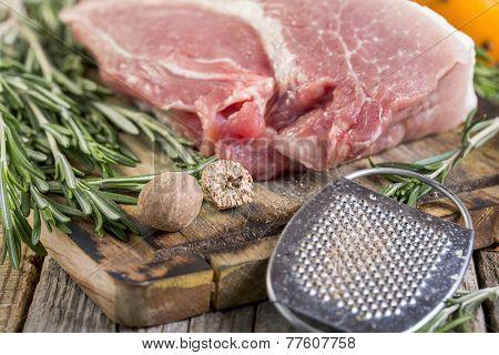 Rosemary, Pork And Nutmeg.