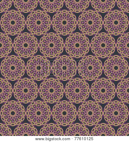 Abstract spirographs geometric pattern