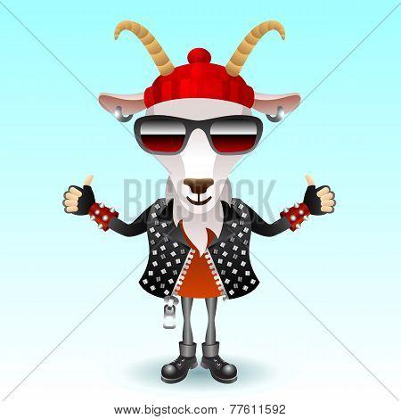 Goat rocker character