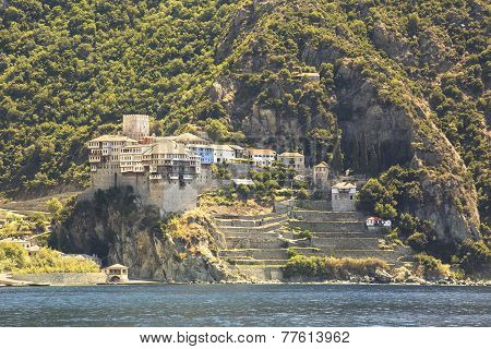 Dionysiou monastery. Holy Mount Athos.