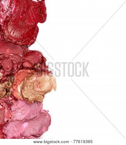 Smudged Lipsticks
