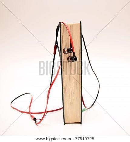 Audio Book And Earphones