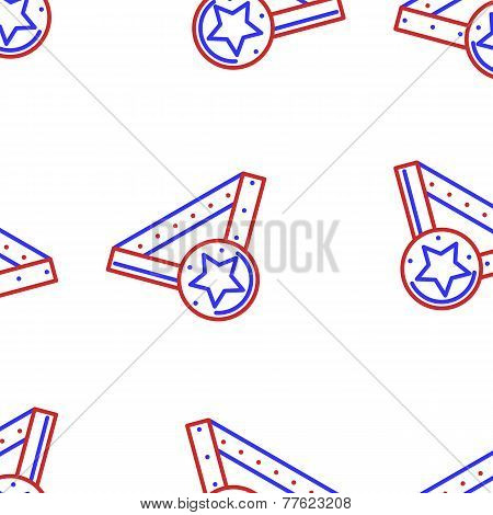 Vector background for sports medal