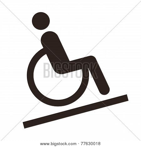 Disabled Sign - Facilities For Disabled