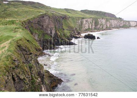 Cliffs in Nothern Ireland