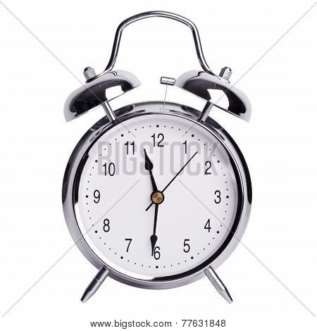 Half Past Eleven On An Alarm Clock