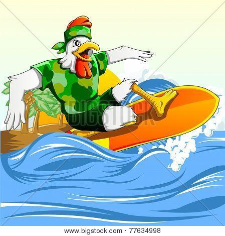 Chicken Surf