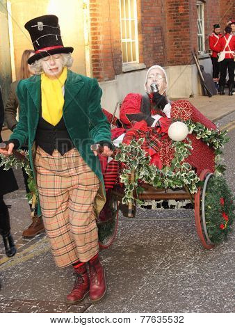 Christmas victorian festival