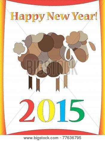 Happy New Year Sheep