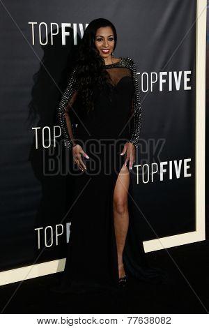 NEW YORK-DEC 3: Actress Karlie Redd attends the