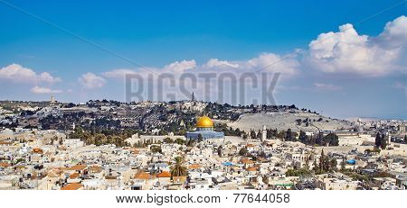 Jerusalem Old Sity View