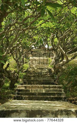 Stairs To Ke Ga Lighthouse, Vietnam, Phan Thiet