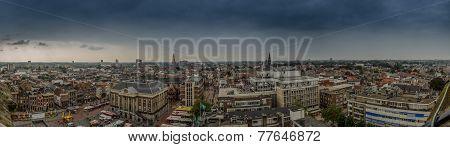 Groningen Panorama From Martini Tower
