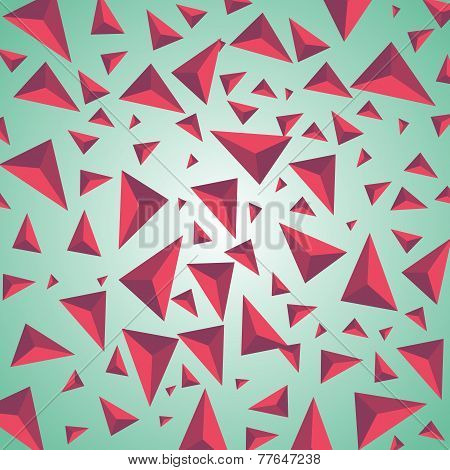 Abstract explosion vector background