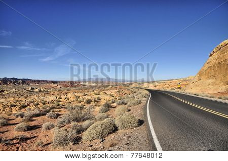 Valley of Fire Highways