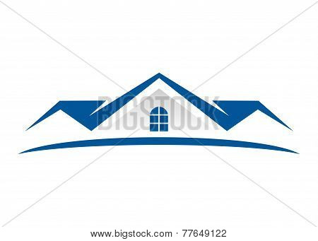 Real Estate  vector logo design
