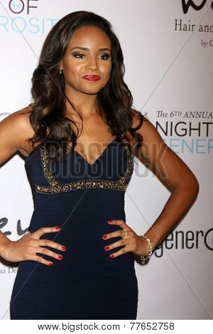 LOS ANGELES - DEC 5:  Meagan Tandy at the 6th Annual Night Of Generosity at the Beverly Wilshire Hotel on December 5, 2014 in Beverly Hills, CA