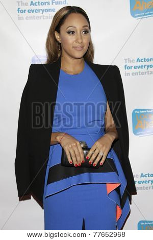 LOS ANGELES - DEC 4:  Tamara Mowry at the The Actors Fund�?�¢??s Looking Ahead Awards at the Taglyan Complex on December 4, 2014 in Los Angeles, CA