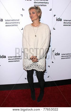 LOS ANGELES - DEC 5:  Lucy Walker at the 2014 IDA Documentary Awards at the Paramount Studios on December 5, 2014 in Los Angeles, CA