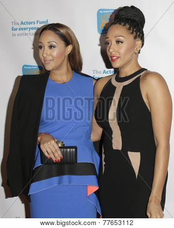 LOS ANGELES - DEC 4:  Tamara Mowry, Tia Mowry at the The Actors Fund�?�¢??s Looking Ahead Awards at the Taglyan Complex on December 4, 2014 in Los Angeles, CA