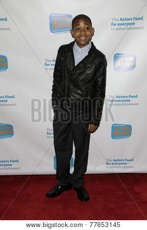 LOS ANGELES - DEC 4:  Tylen Jacob Williams at the The Actors Fund�?�¢??s Looking Ahead Awards at the Taglyan Complex on December 4, 2014 in Los Angeles, CA