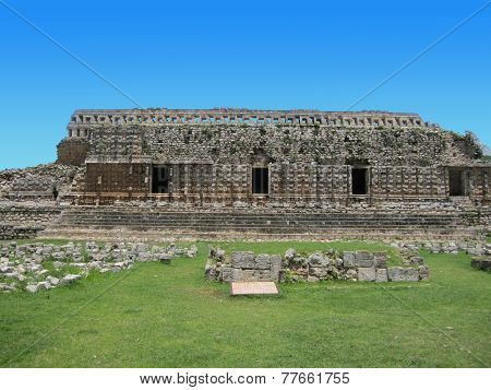 Kabah ruins in mexico
