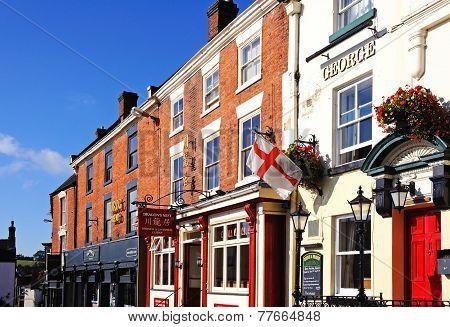 Pub in Market Place, Ashbourne.