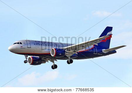 Aeroflot Airbus A319