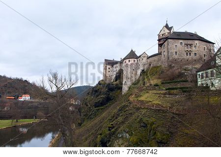Loket Castle And Fortification Czech Republic