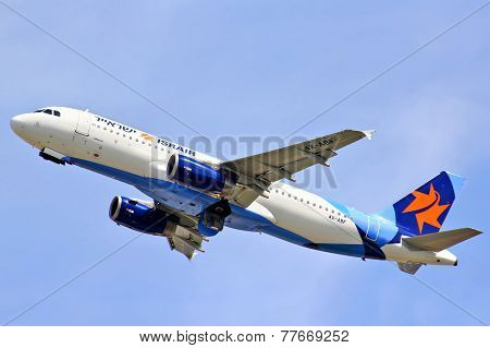 Israir Airlines Airbus A320