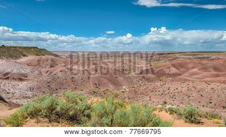 Route 66: Tiponi Point, Painted Desert, Petrified Forest National Park, AZ