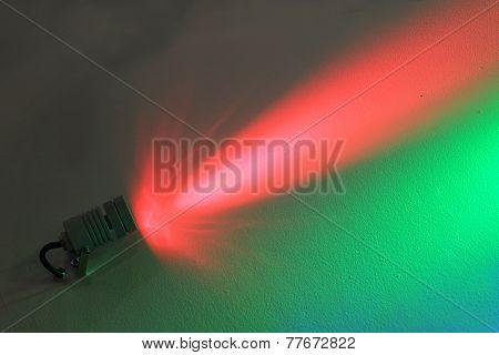 Dark Wall Illuminated Colour Floodlight