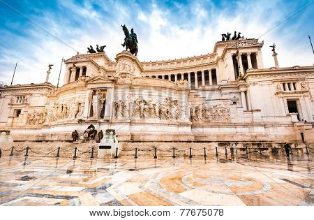 The Altare della Patria or Altar of the Fatherland