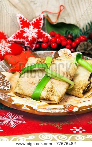 Christmas Food Pancakes