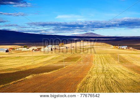 Rural Landscape In Armenia