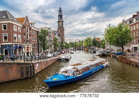 Westerkerk In Amsterdam