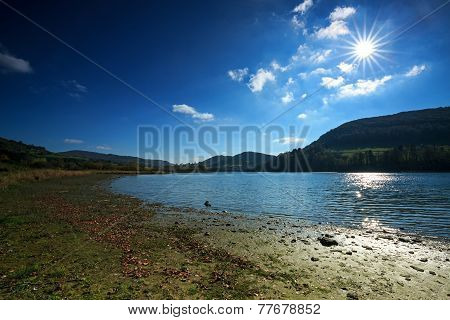 Bieszczady Mountains And Lake Solina