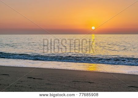 Sunrise In Torremolinos, Spain