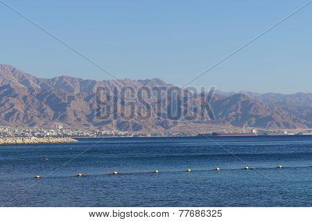Eilat gulf and Aqaba
