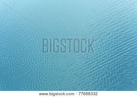Ocean water from above