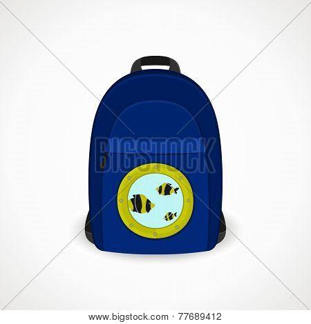 Backpack With Porthole