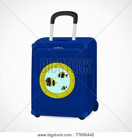 Suitcase With Porthole