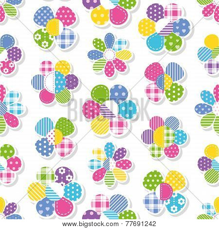 flowers collection pattern