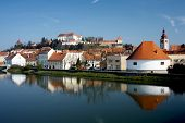 stock photo of castle  - Ptuj Castle is a castle in Ptuj Slovenia - JPG