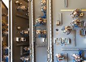 pic of contactor  - The old ceramic fuses on the control panel