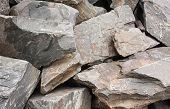 pic of shale  - Angular Shale rocks detail suitable for background - JPG