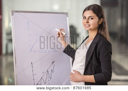 Pregnant Businesswoman