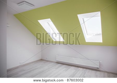 Empty Attic Room