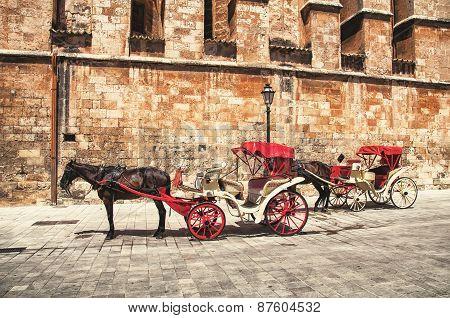 Horse Carriage, Majorca