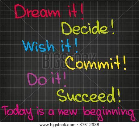 Dream it Wish it